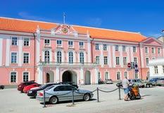 Toompea Schloss, Tallinn Stockfotografie