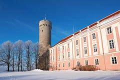 Toompea. Tallinn, Estonie Photos stock