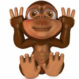 Toon Ape Stock Photography