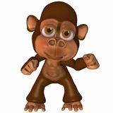 Toon Ape Royalty Free Stock Photography