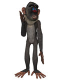 Toon Baboon Royalty Free Stock Image