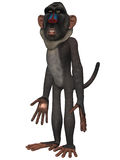 Toon Baboon Royalty Free Stock Photo