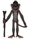 Toon Baboon Royalty Free Stock Photography