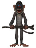 Toon Baboon Stock Image
