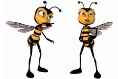 Toon Bee Stock Photos