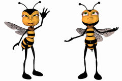 Toon Bee Royalty Free Stock Images