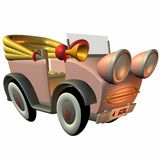 Toon Buggy-Girly Stock Images