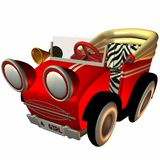 Toon Buggy-Sporty Royalty Free Stock Photo