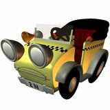 Toon Buggy-Taxi Stock Images