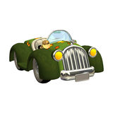 Toon Car Royalty Free Stock Photography
