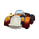 Toon Car Royalty Free Stock Images