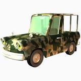 Toon Car Pckup Stock Foto