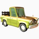 Toon Car Pickup Stock Foto's