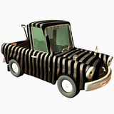 Toon Car Pickup Royalty Free Stock Photography