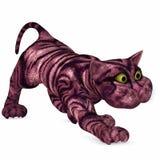 Toon Cat - 3D Figure. 3 D Render of an Toon Cat Stock Photos