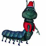 Toon Caterpillar Royalty Free Stock Images