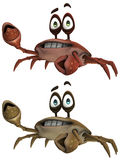 Toon Crab Royalty Free Stock Photos