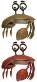 Toon Crab. 3d render of a toon crab vector illustration