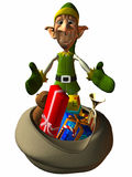 Toon Elf Stock Photography
