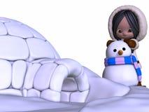 Toon Eskimo Stock Photo