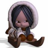 Toon Eskimo Stock Photos