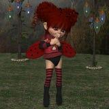 Toon Figure - fantasifel Royaltyfria Bilder