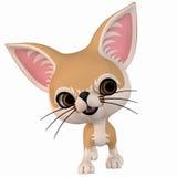 Toon Fox Royalty Free Stock Photo