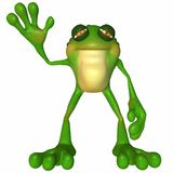 Toon Frog Royalty Free Stock Image