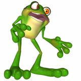 Toon Frog Royalty Free Stock Images