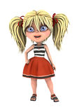 Toon Girl Royalty Free Stock Images