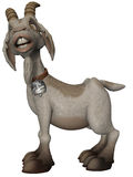 Toon Goat Royalty Free Stock Photography