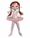 Toon Goblin Ballerina Stock Photo