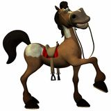 Toon Horse Royalty Free Stock Images