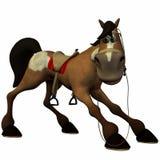 Toon Horse Royalty Free Stock Photo