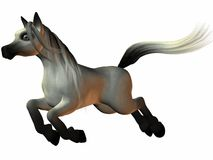 Toon Horse Royalty Free Stock Photos