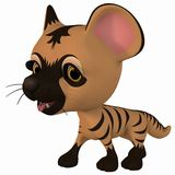 Toon Hyena Royalty Free Stock Photo