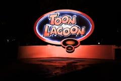 Toon Lagoon i universella studior i Orlando, FL Arkivbilder