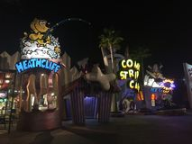 Toon Lagoon in Universal Studios in Orlando, FL. Toon Lagoon located in Universal Studios in Orlando, Florida Stock Photo