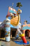 Toon Lagoon in Universal Orlando Royalty Free Stock Images