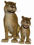 Toon Leopard Stock Photos