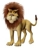 Toon lion Stock Images