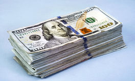 Toon me het geld Stock Afbeeldingen