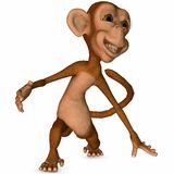 Toon Monkey Royalty Free Stock Photography