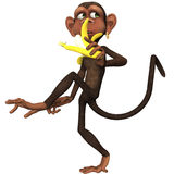 Toon Monkey Royalty Free Stock Images