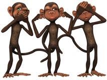 Toon Monkey Royalty Free Stock Photo