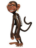 Toon Monkey Royalty Free Stock Image