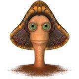 Toon Mushroom Royalty Free Stock Image