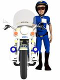Toon Police Officer Royalty Free Stock Photography