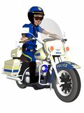 Toon Police Officer Stock Photography