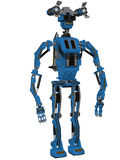 Toon Robot Royalty Free Stock Photo